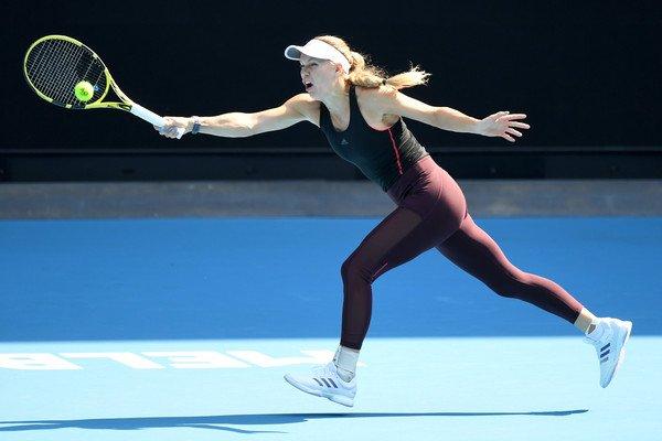 Wozniacki Yastremska Australian Open 2020