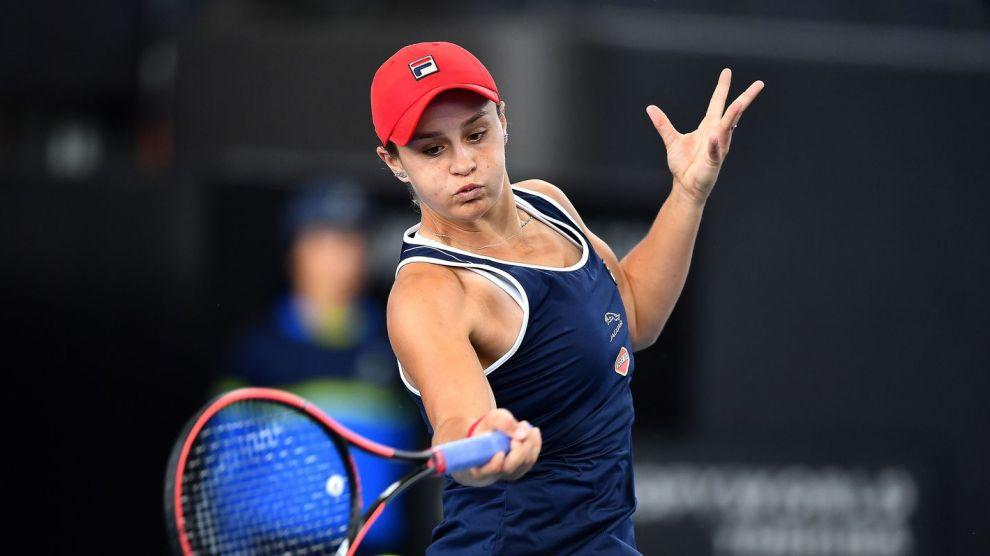 Barty Collins WTA Adelaida 2020