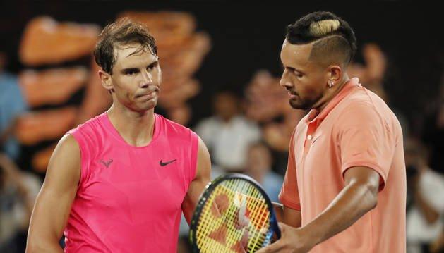 Nadal Kyrgios declaraciones Australian Open 2020