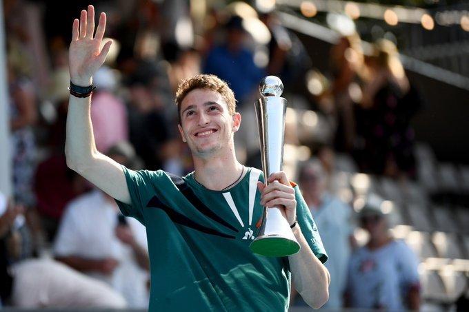 Humbert Paire ATP Auckland 2020