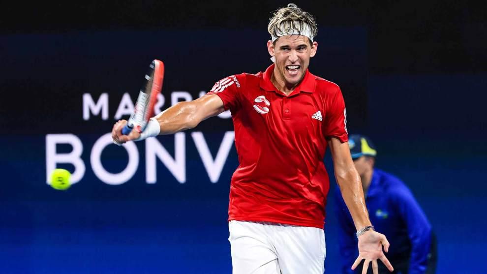 Thiem Schwartzman ATP Cup 2020