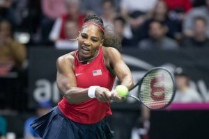 Serena Williams Ostapenko Fed Cup