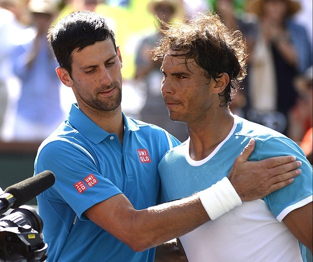 Enfrentamientos Djokovic Nadal Indian Wells