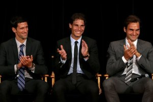 estadísticas big three entre ellos atp