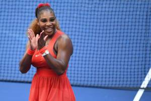 Serena Williams Sakkari US Open