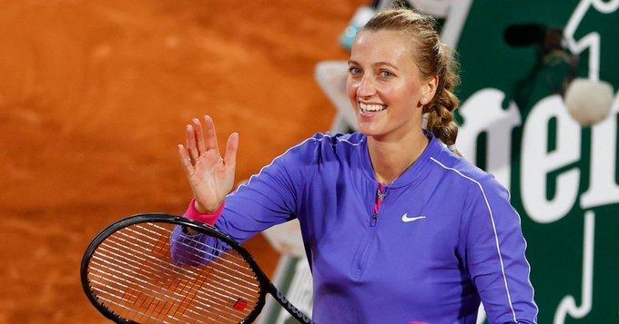 Kvitova Fernández Roland Garros