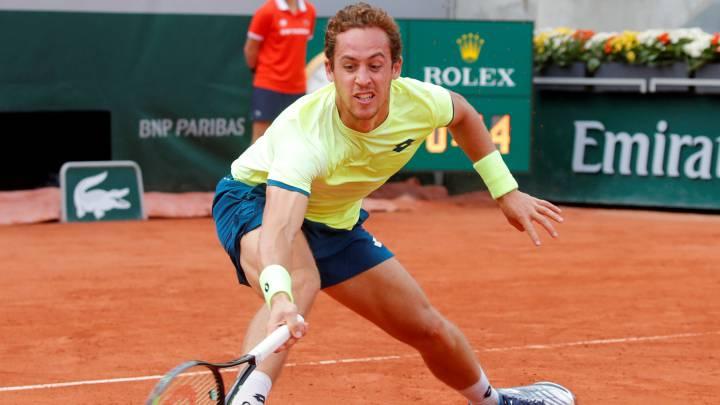 Shapovalov Carballés Roland Garros