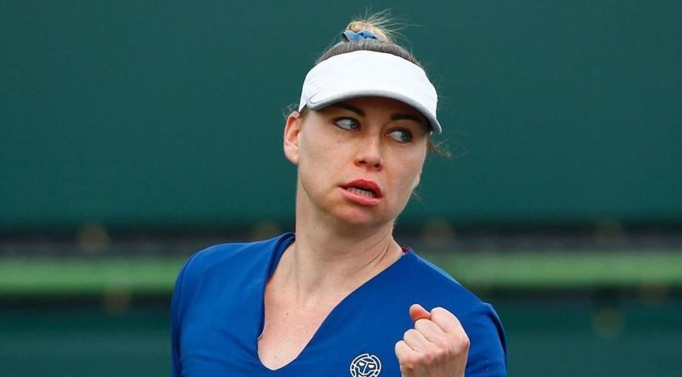 Zvonareva Kostyuk WTA Linz