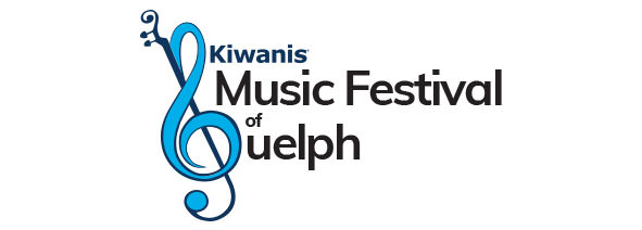Kiwanis Music Festival of Guelph logo (full colour)