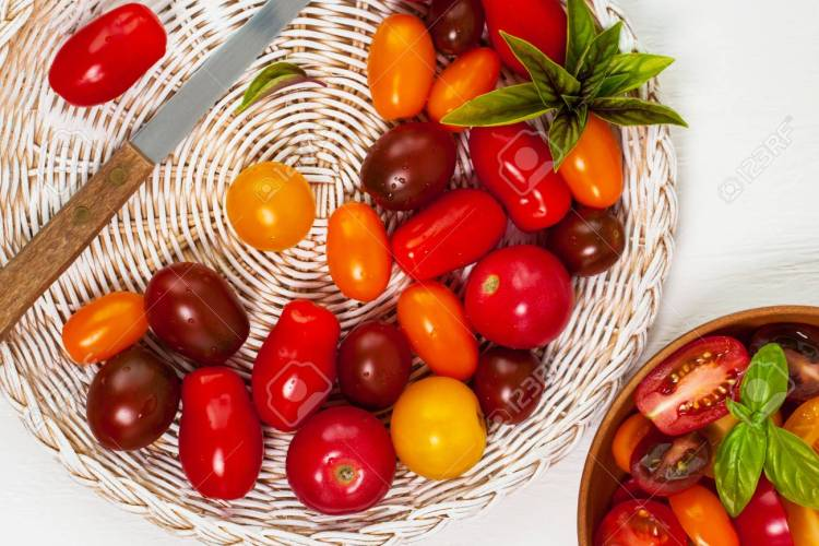mixed cherry tomatoes