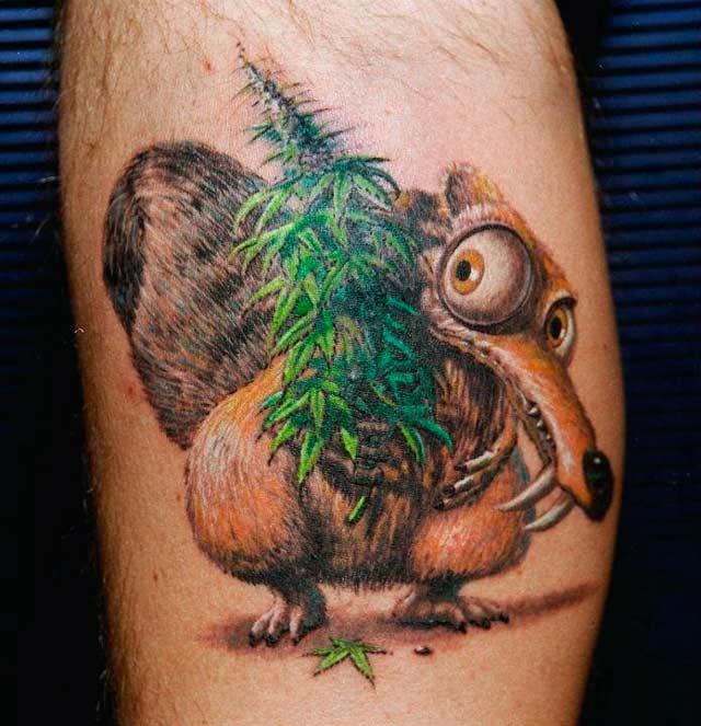 Cáñamo 11 Tatuajes Cannábicos Para Amantes De La Hierba