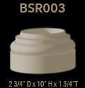 bsr003 round column base