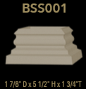 bss001 square column base