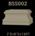 bss002 square column base