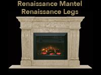 renaissance mantel with renaissance legs