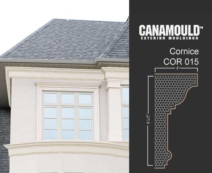 Exterior cornice raking cornice architecture www for Garderobe exterior