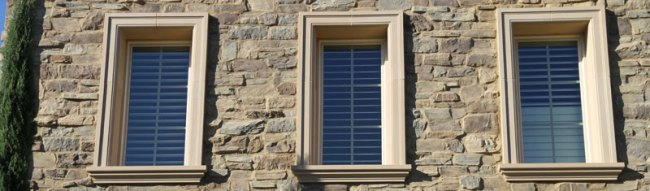 Exterior trim by Canamould