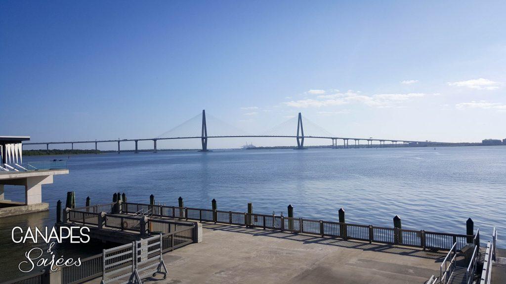 Charleston Cooper River Arthur Ravenel Bridge