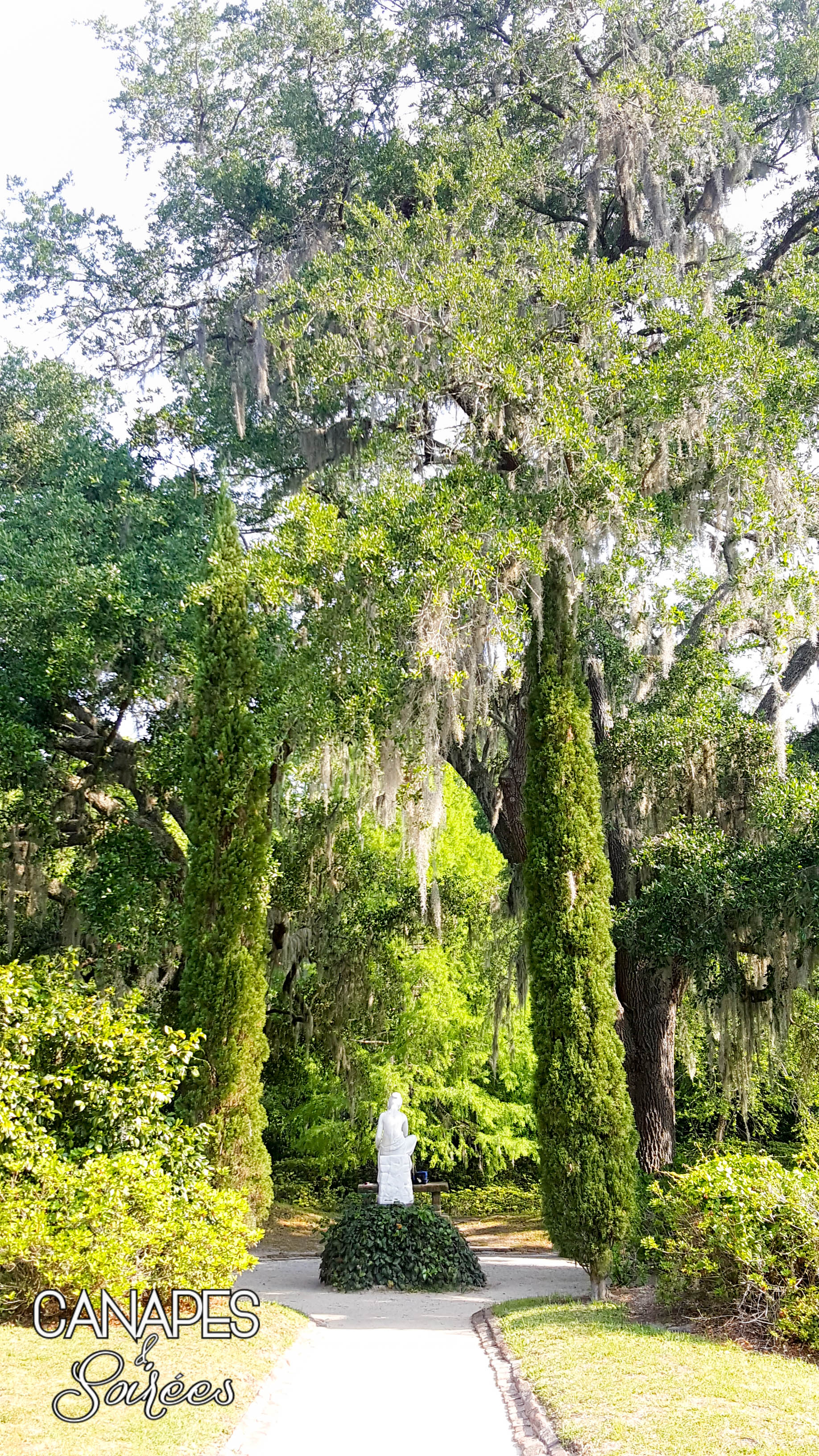 Middleton Place Statue 1