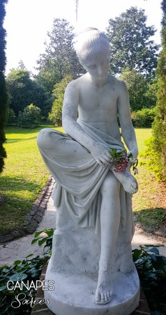 Middleton Place Statue 2