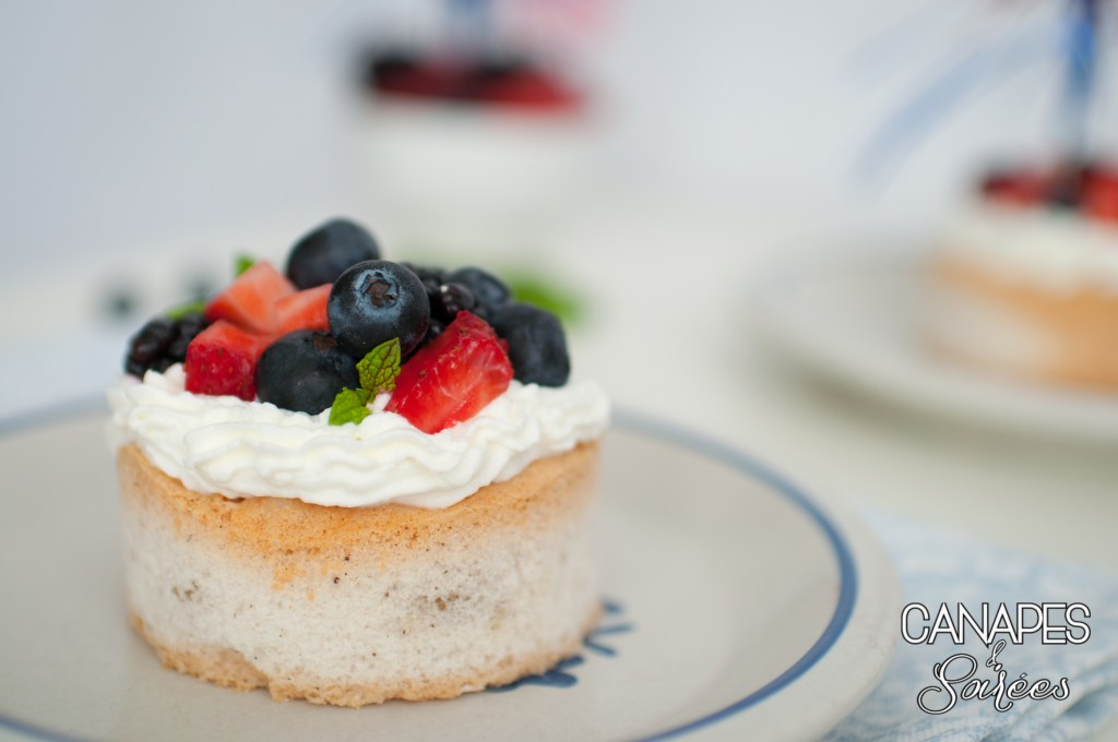 Low Carb Triple Berry Pavlovas