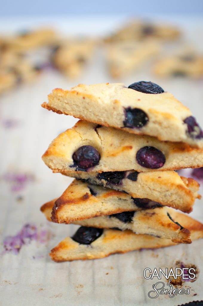 The best low carb blueberry scones stacked up