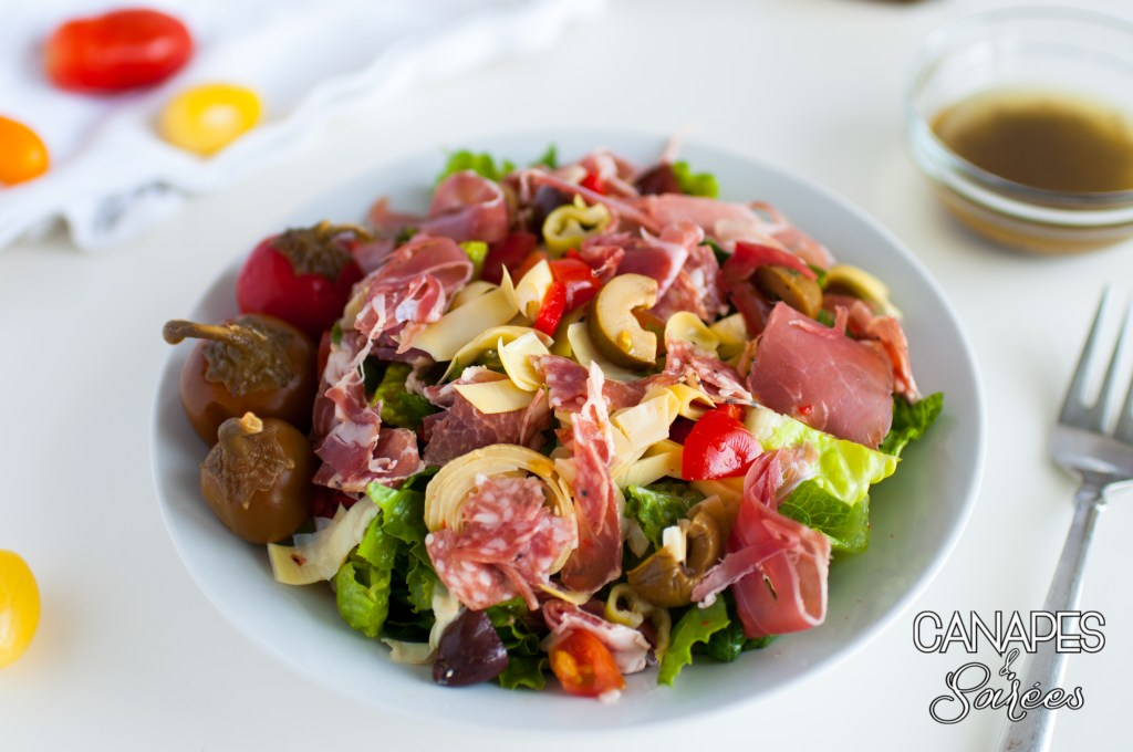Low Carb Antipasto Salad