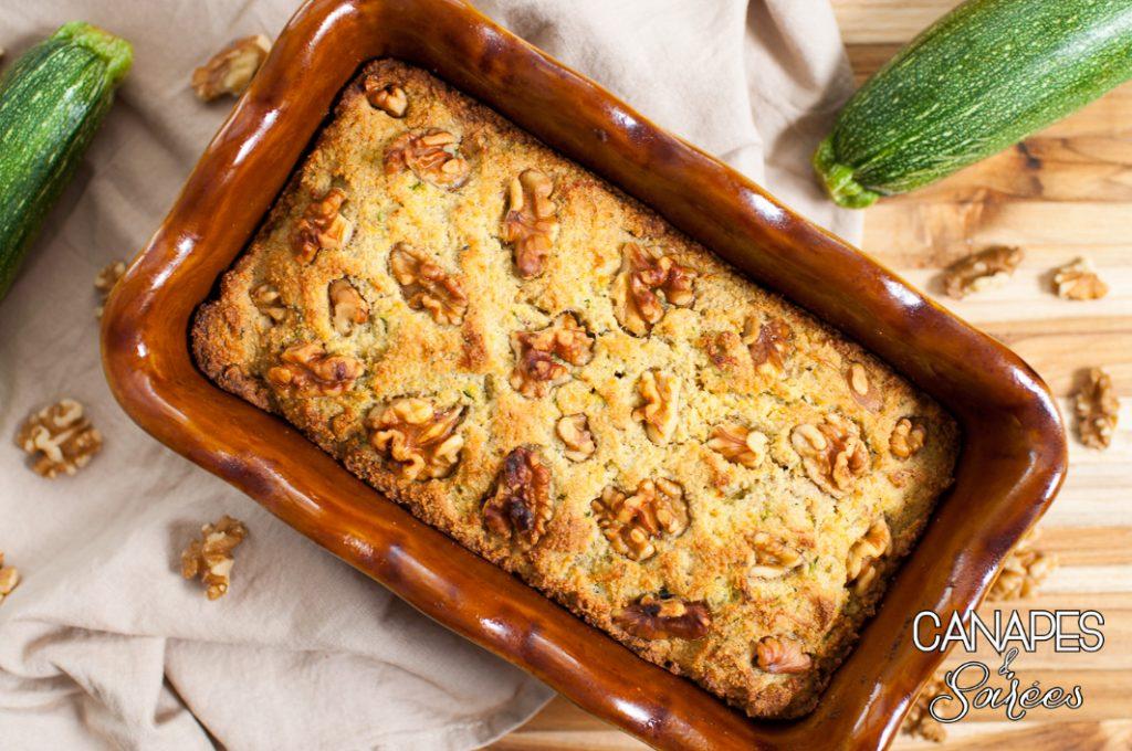 Low Carb Zucchini Walnut Bread-1