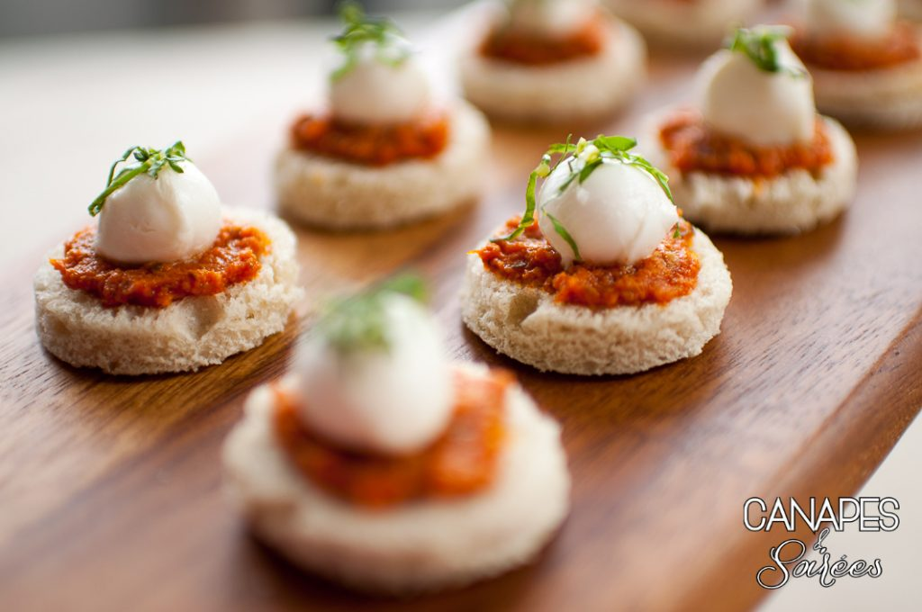 Sun Dried Tomato Basil Mozzarella Canapes-1
