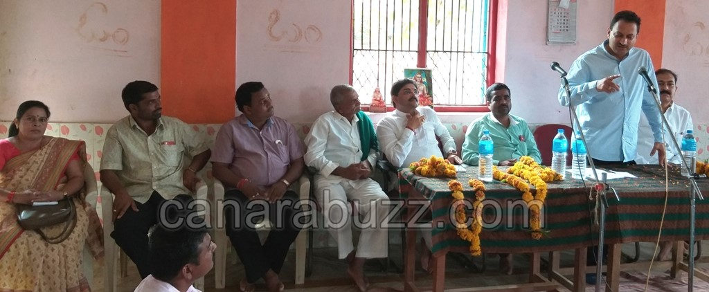 Central minister Anantkumar hegade BJP party workers meeting