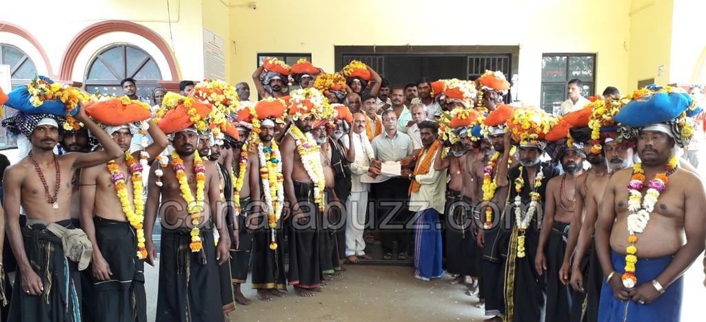 swami ayapa devotees submitted memorandum