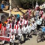 Dalita sangarsha samiti Kempu sene - pratibhatane