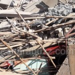 building collapsed,near the new bus stand, Dharwad,