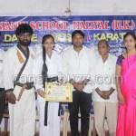 KARATE school ,black belt to reshma khella