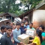 "Flood Donation Report ,From Uttarakannada ,CSC VLE""S"
