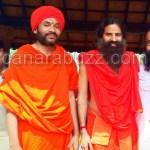 Manjunath swamji meets BABA RAMDEV
