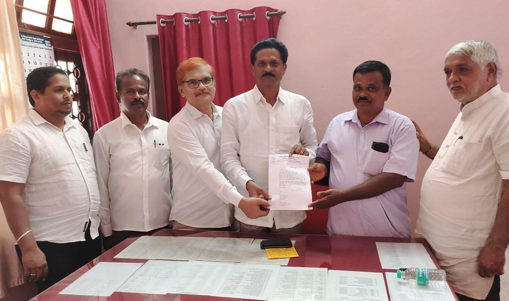 Kuppu Hanumanth Gouda appointed the New President , Honnavar Block Congress Backward Cell