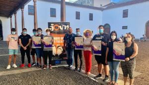 El largometraje 'La Movida' refleja el talento de 15 jóvenes artistas palmeros
