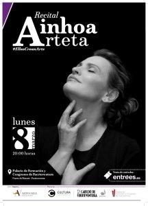 Ainhoa Arteta dará un recital en el Palacio de Formación y Congresos de Fuerteventura el día de la Mujer