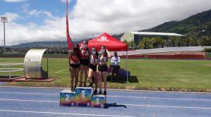 IES El Paso e IES Villa de Mazo vencedores en el IV Torneo de Atletismo de IES de La Palma