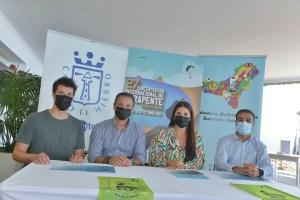 160 deportistas se dan cita en la 27 Concentración Internacional de Parapente Isla de El Hierro