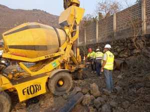 Transición Ecológica abre nuevos pozos de captación para las dos desaladoras portátiles de La Palma
