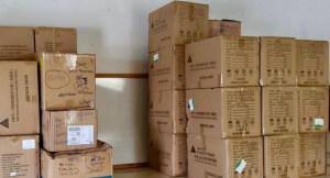 La Palma coordina la distribución de material de protección entre la población ante la erupción