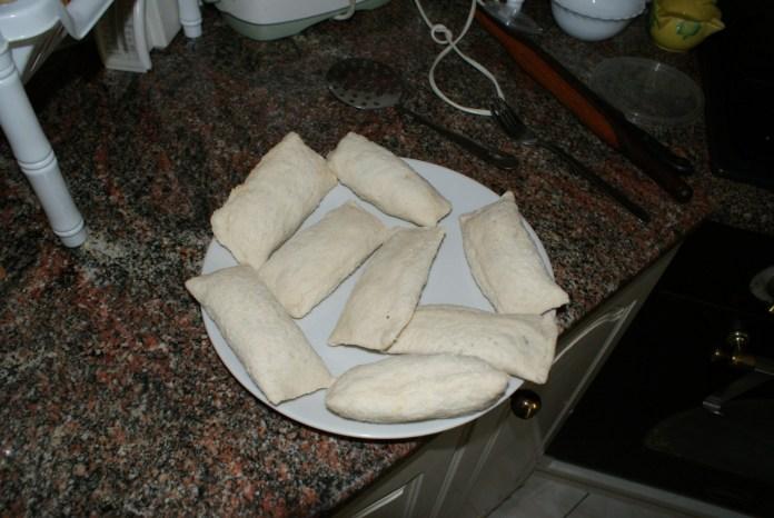 Make the bread rolls