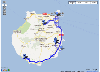 ruta gran canaria