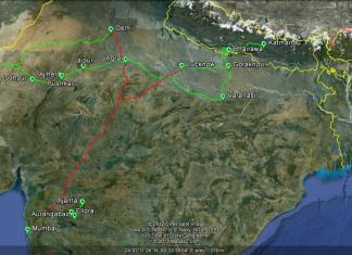 Ruta India 2012