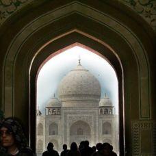 canariasagusto-india2012-agra taj mahal portal