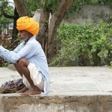 canariasagusto-india2012-ajmer hombre mayor