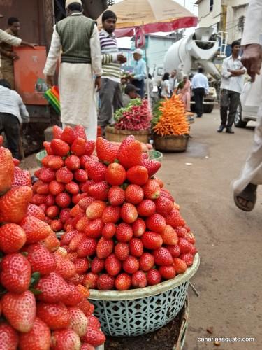 Las fresas de Mahabaleshwar