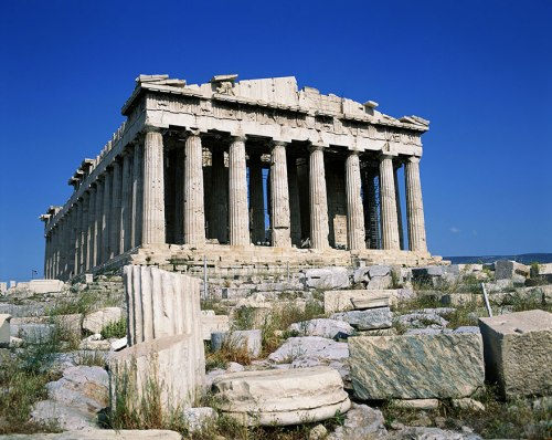 La Acrópolis, Atenas - Grecia